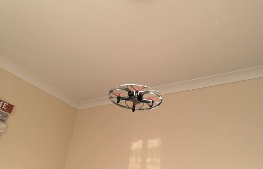 Flying the Air Was drone