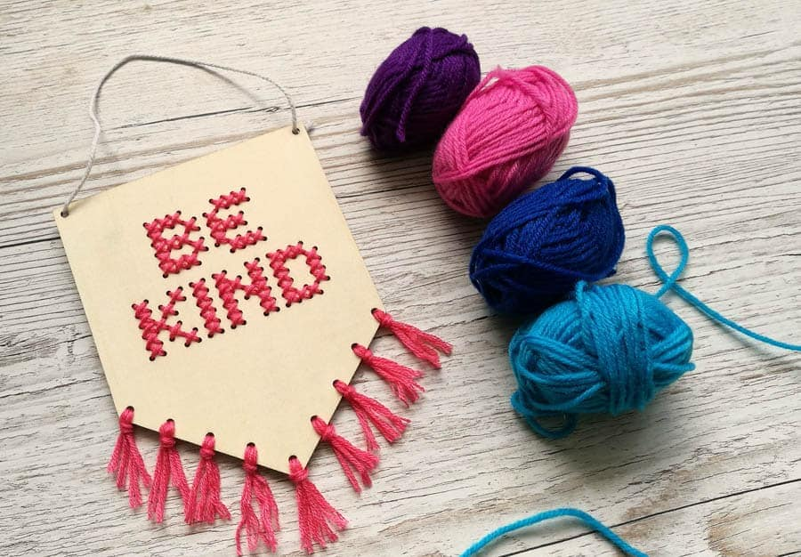 Mollie Makes be kind banner