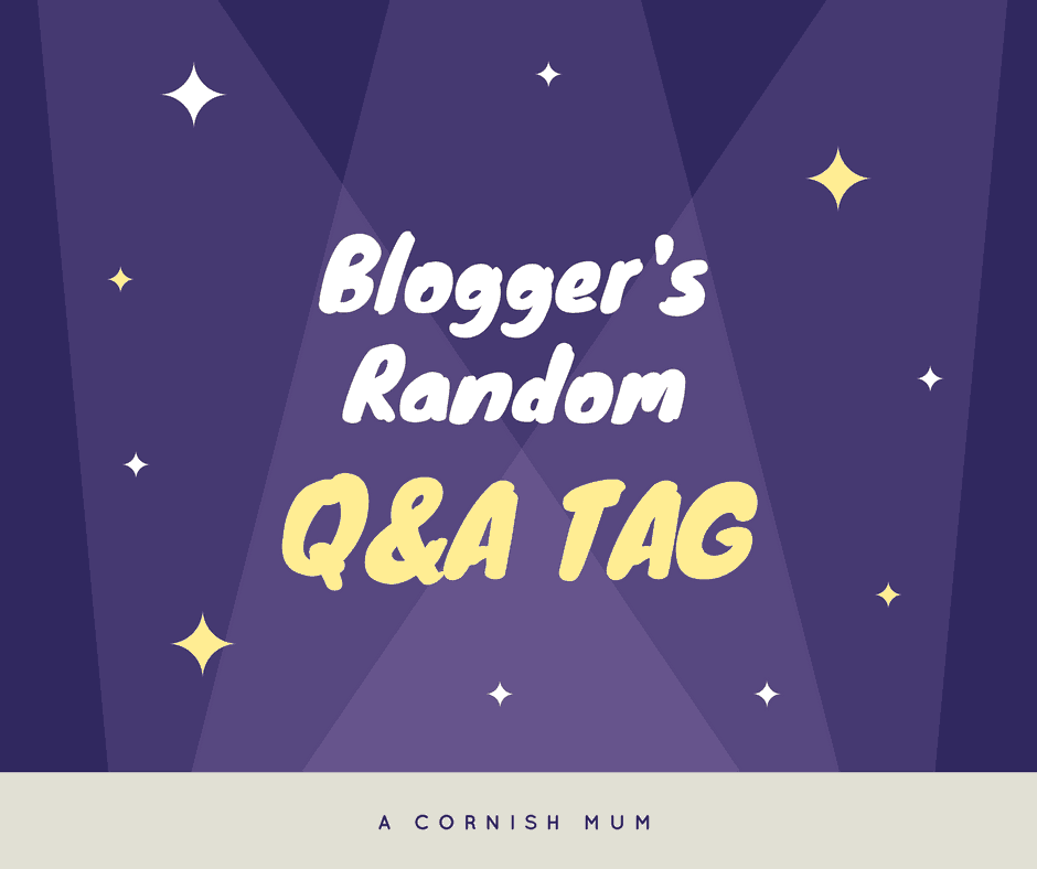 Random Blogger Questions and Answers Tag