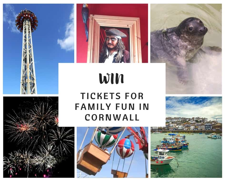 Win tickets for family fun in Cornwall