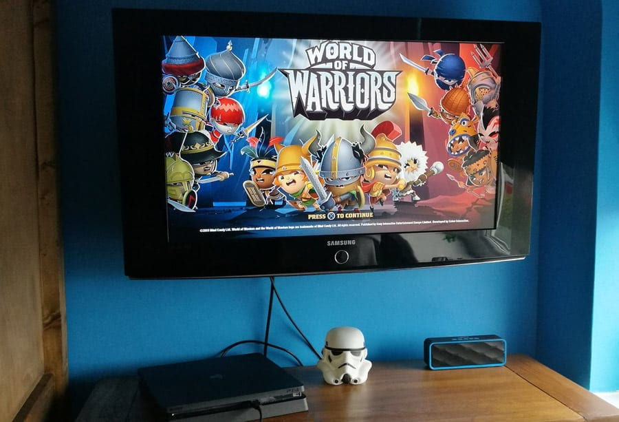 Review: PS4 World of Warriors and a Rucksack Giveaway