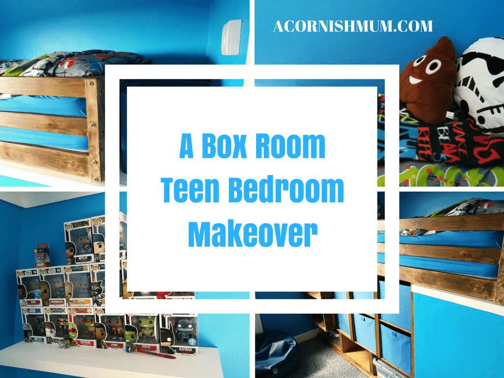 A Box Room Bedroom Makeover with Bulkhead DIY Bed