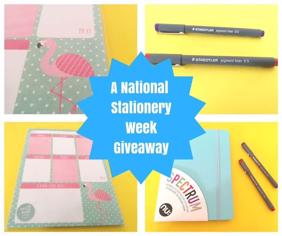 Another National Stationery Week Giveaway