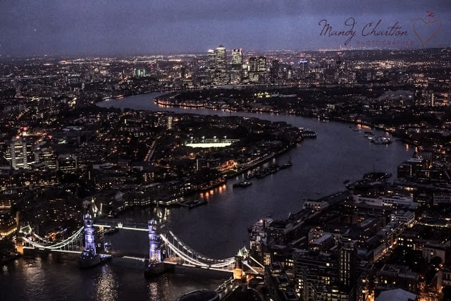 London at night by Mandy Charlton Photography