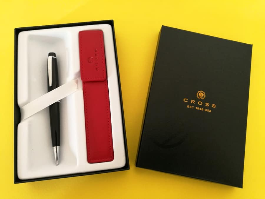 Cross pen stationery