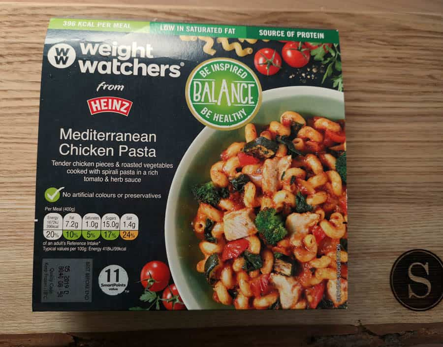 Mediterranean chicken pasta weight watchers