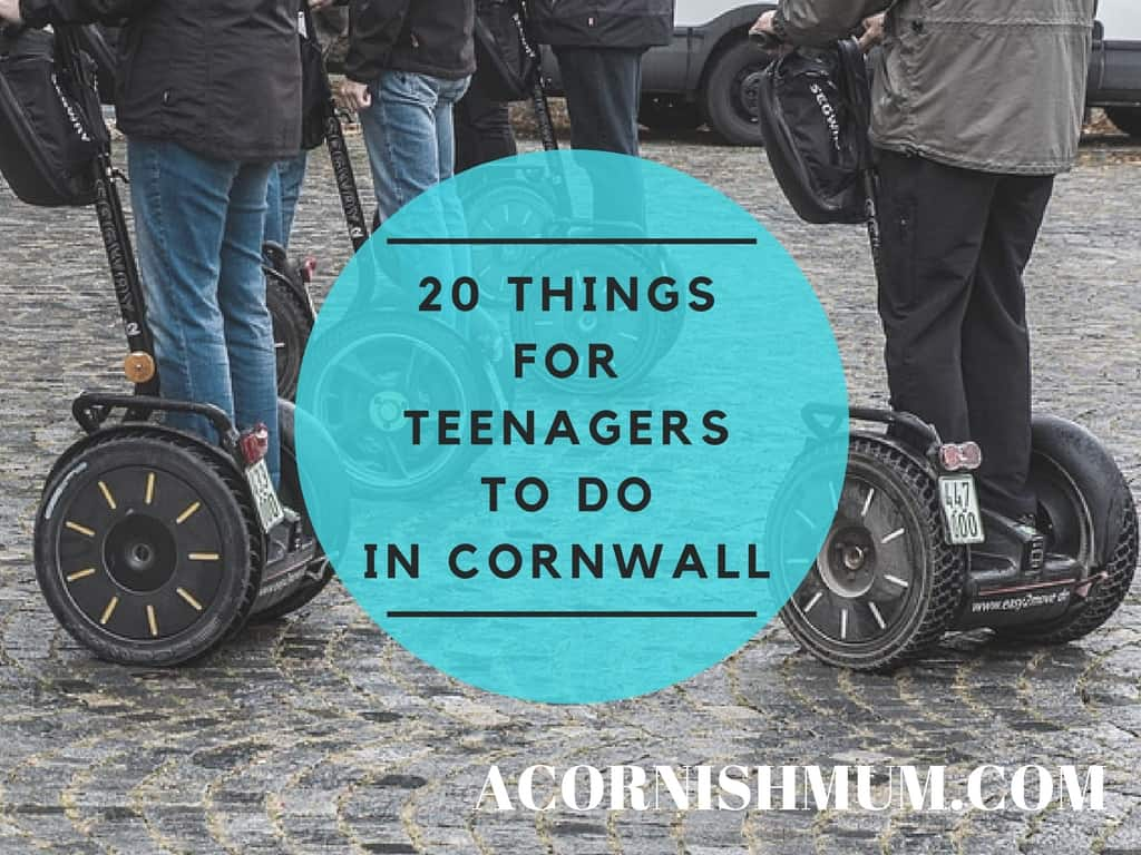 20 Things For Teenagers To Do in Cornwall