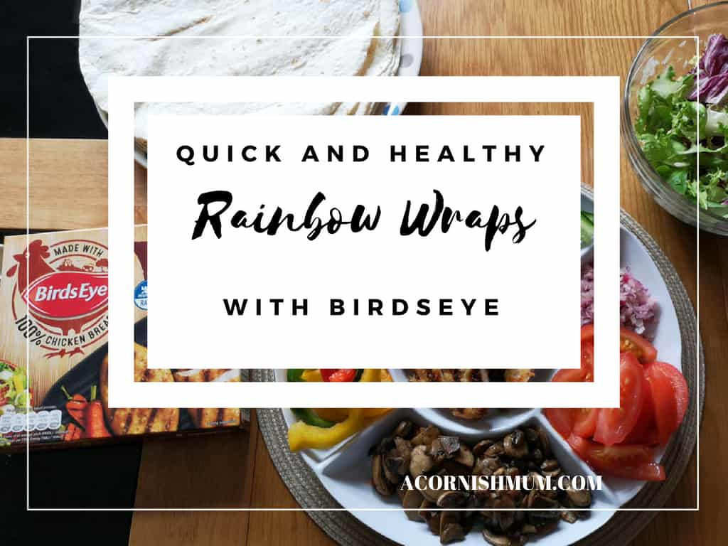 Rainbow Wraps with Birdseye