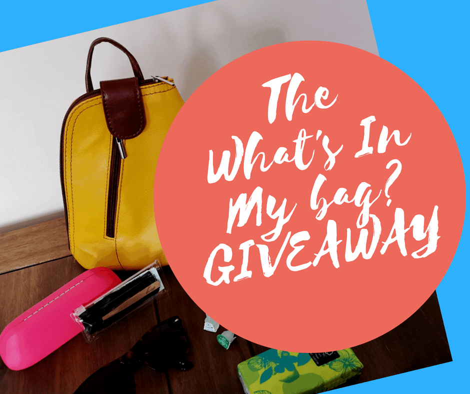 The Inside My Bag Giveaway: Win Tweezers