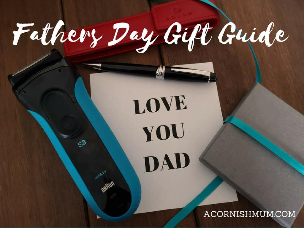 Fathers Day gift guide title image - Love You Dad