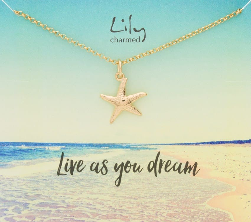 Lily Charmed necklace giveaway
