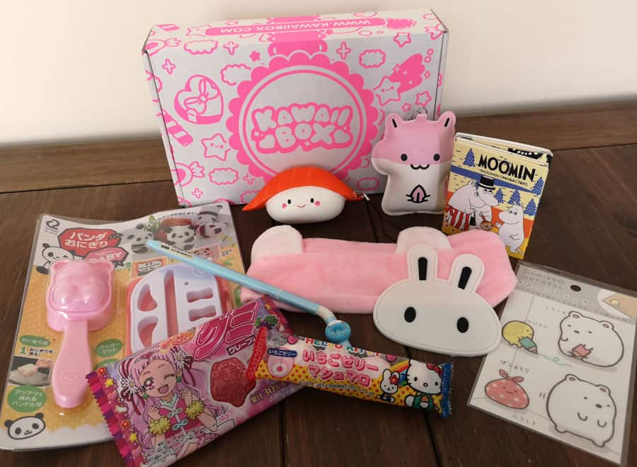 Kawaii Box June 2018 contents
