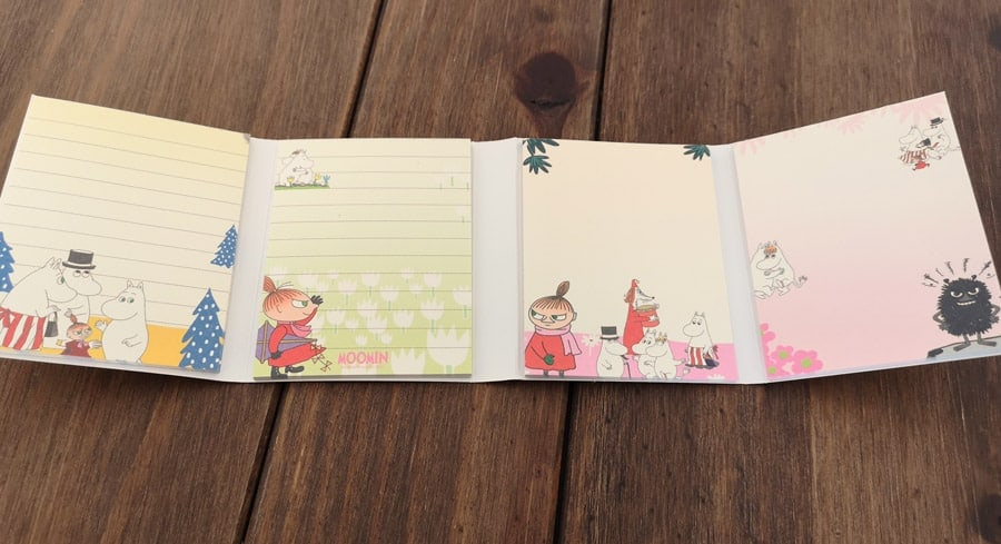 Moomin memo pad Kawaii Box