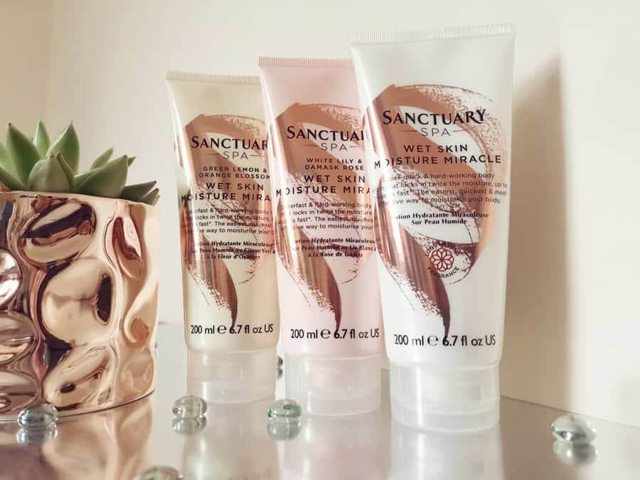 Sanctuary Spa Wet Skin Moisture Miracle tubes