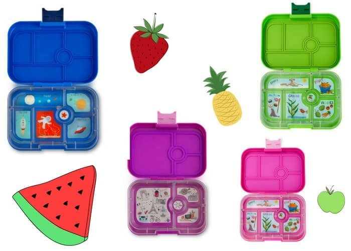 Yumboxes in different colours