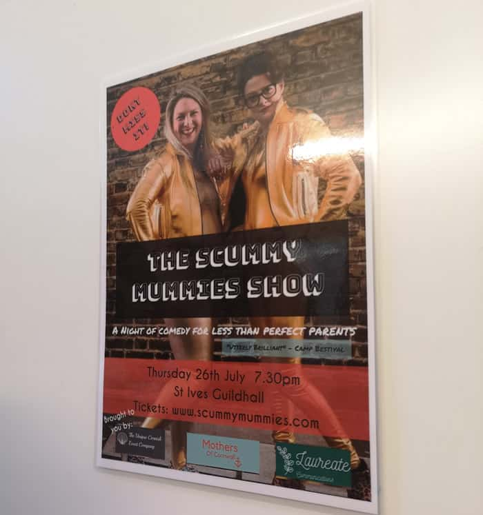 Poster featuring Scummy Mummies