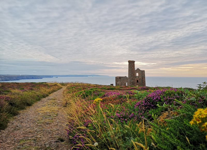 Sunsets in Cornwall: Wheal Coates St Agnes