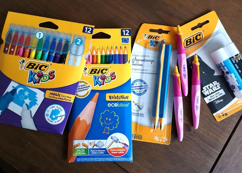Bic Giveaway Prize