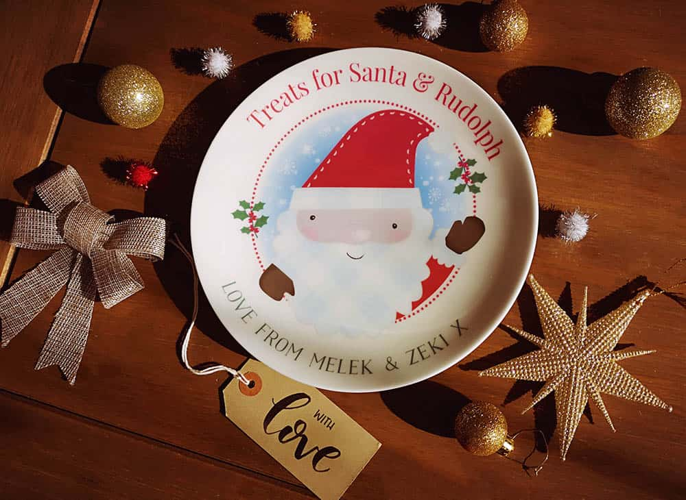 Christmas Eve Santa Plate Giveaway: Born Gifted