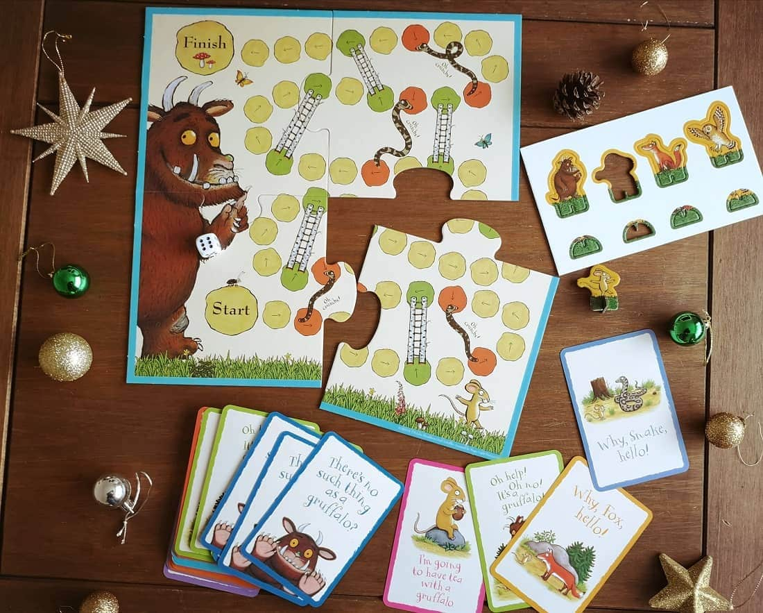 The Gruffalo snakes and ladders and snap