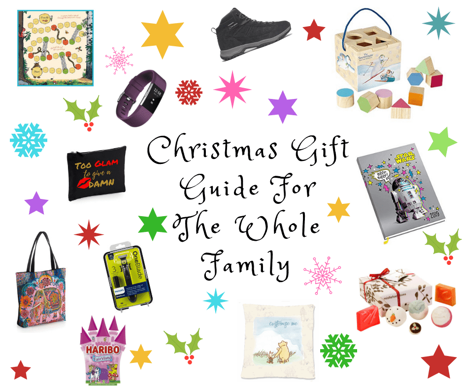 Christmas gift gude 2018 whole family