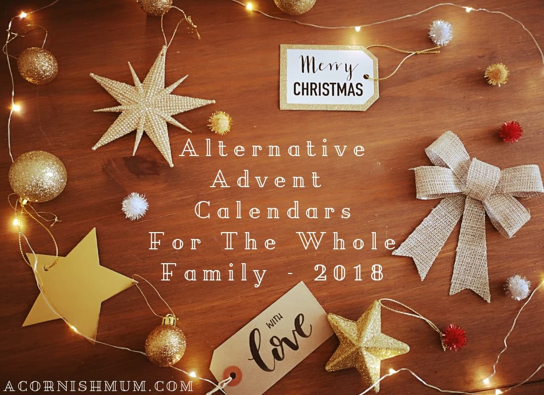 Alternative Advent Calendars For All The Family: 2018