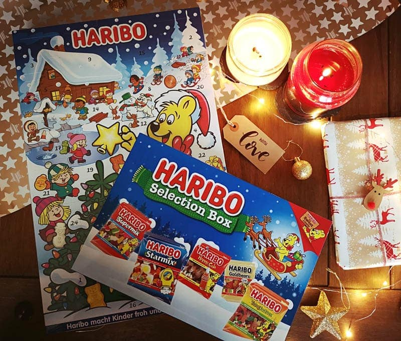 Haribo advent calendar and selection box prize