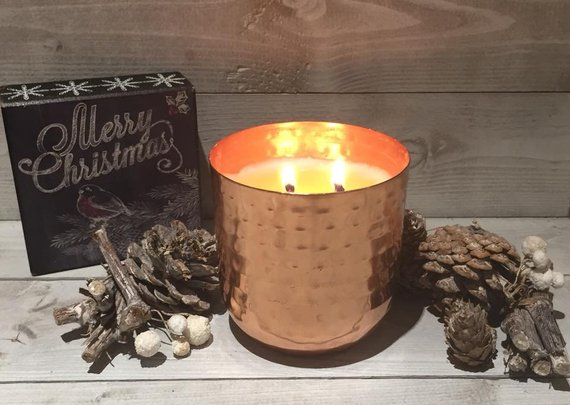 ginger biscuit scented candle