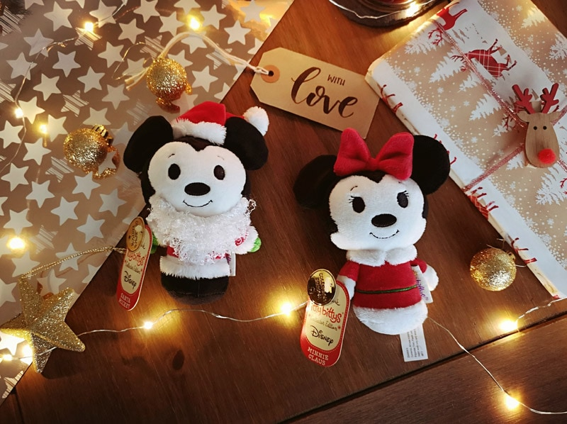 Mickey and Minnie itty bittys