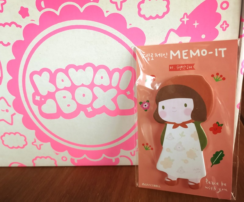 Thankful Memo-It notes Kawaii