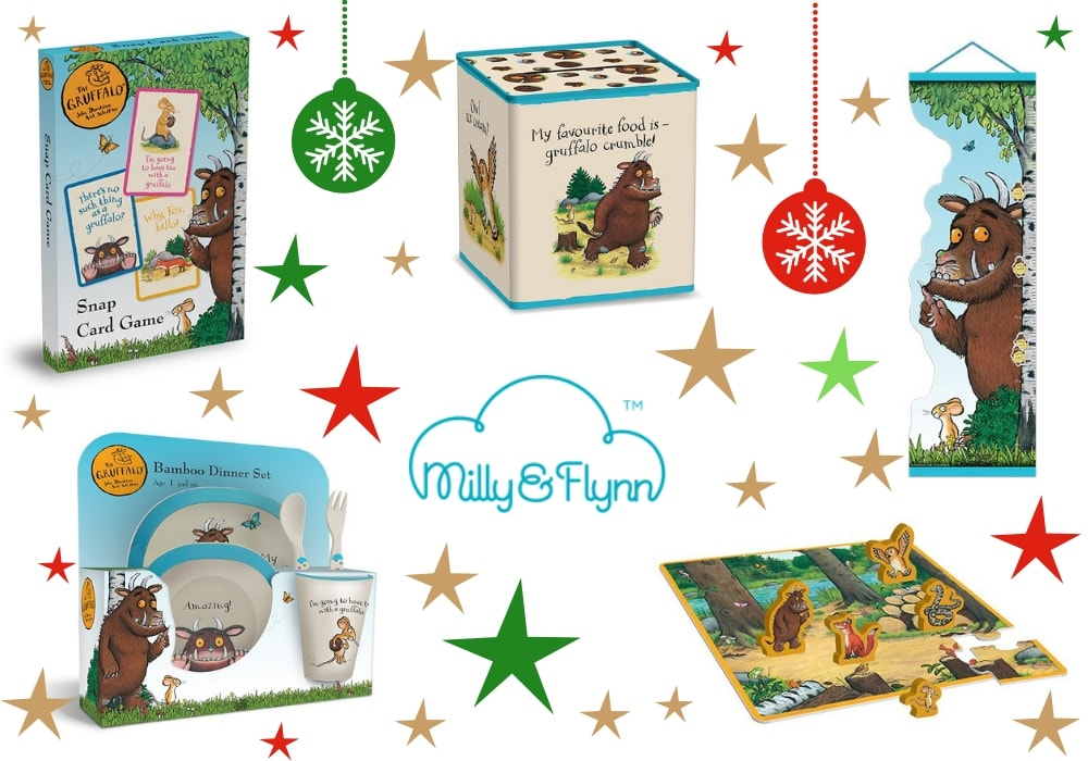 Milly and Flynn Gruffalo items