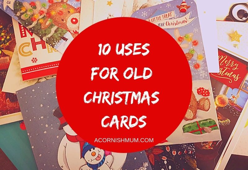 10 Uses For Old Christmas Cards