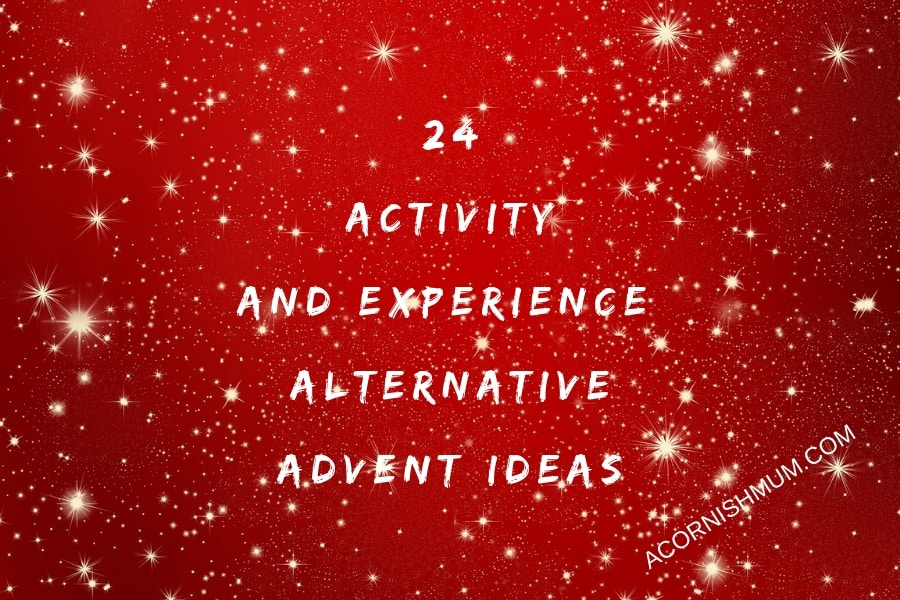 24 activity and experience alternative advent ideas