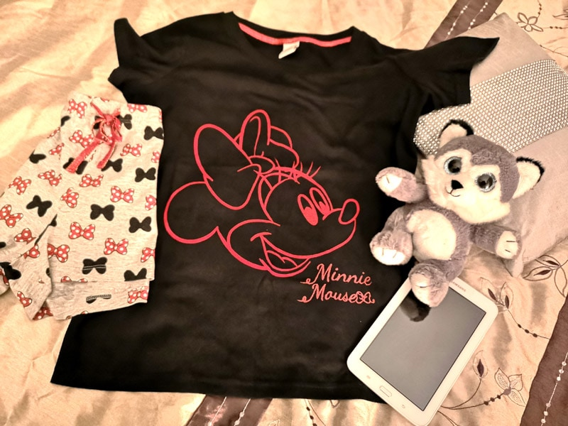 Minnie Mouse PJs from Next