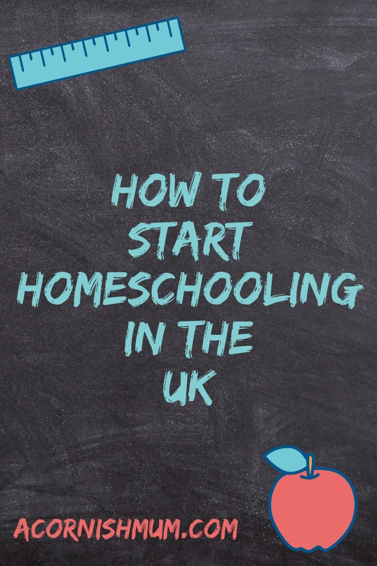 How to start homeschooling in the UK