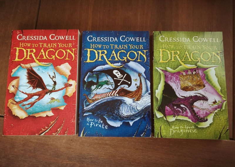 How To Train Your Dragon books loose