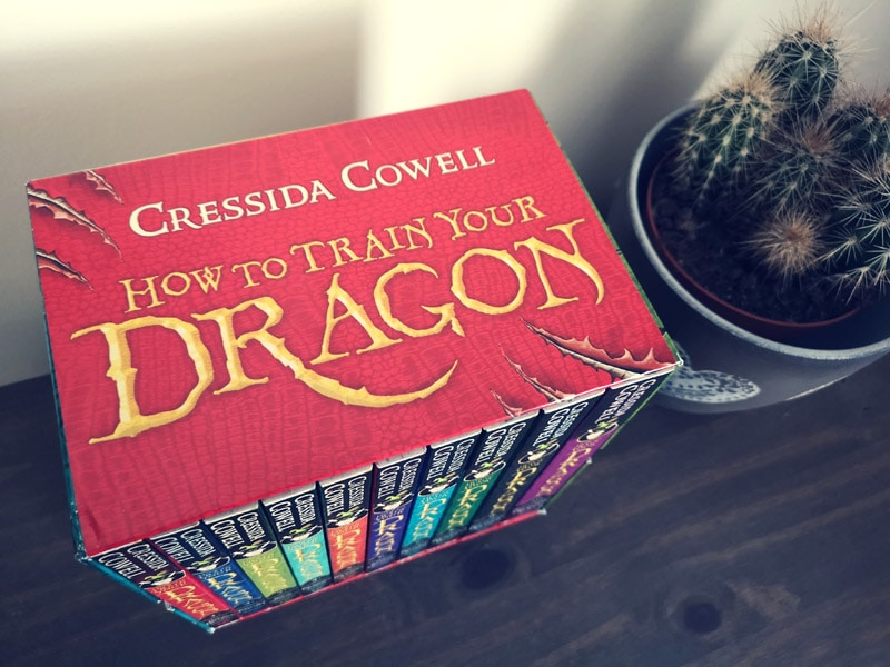 How To Train Your Dragon top of box