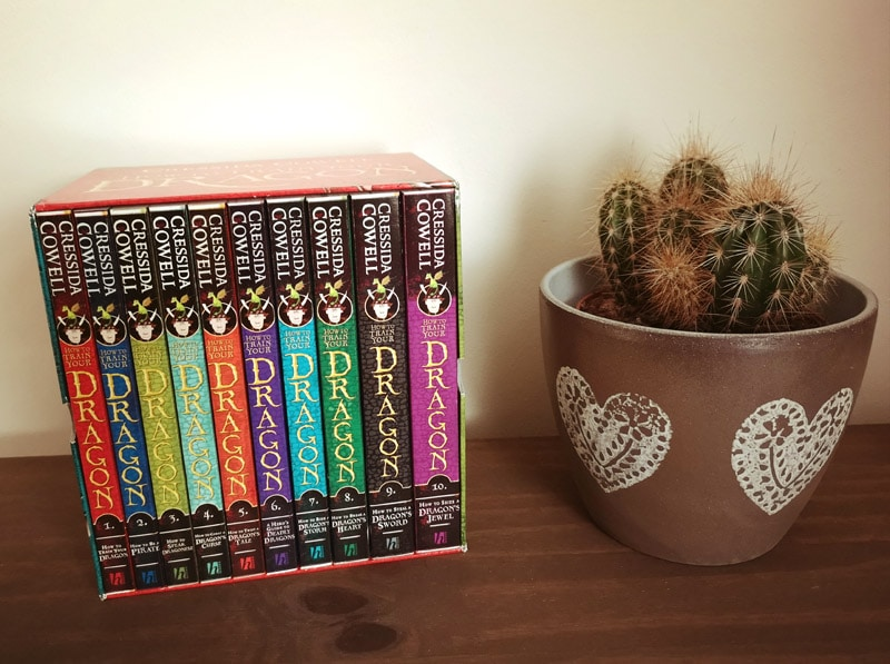 How To Train Your Dragon Books set