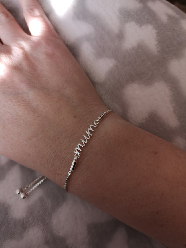 Philip Jones Jewellery Mum bracelet