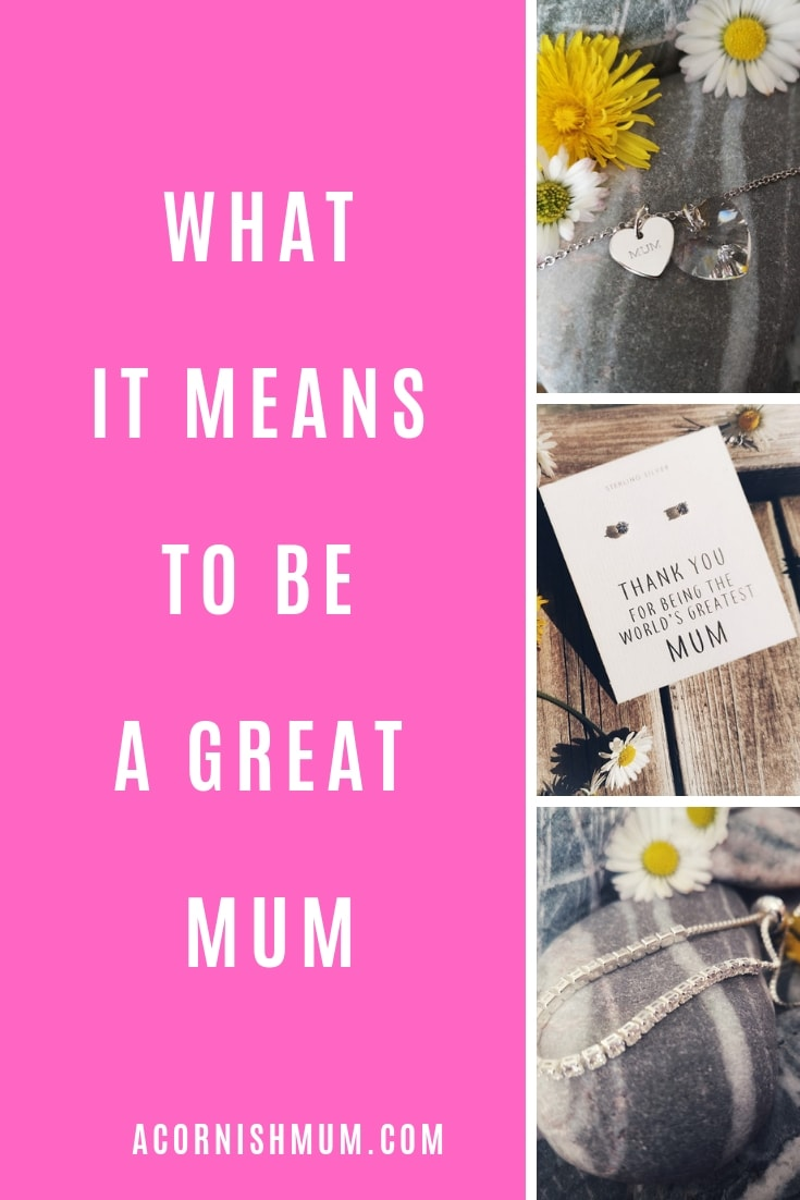 What it means to be a great Mum Pin