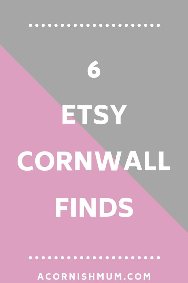 6 Etsy Cornwall finds