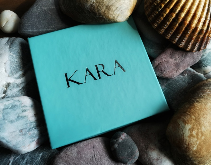Blue Kara jewellery box