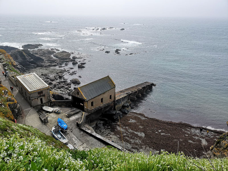 The old lifeboat station at The Lizard