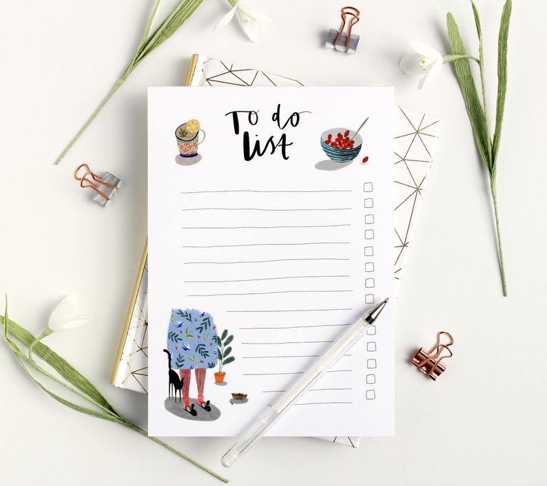 quirky to list pad etsy